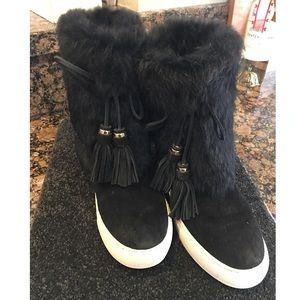 Tory Burch angelica booties, snow winter boots 8